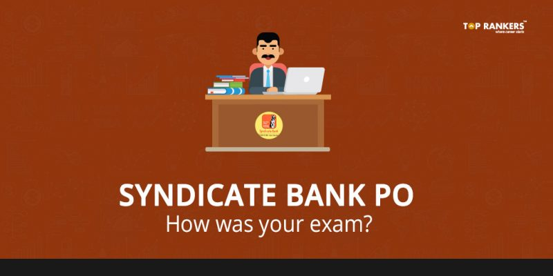 Syndicate Bank PO Paper Review