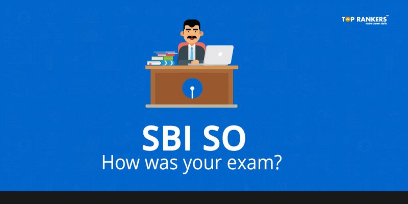 SBI SO exam feedback
