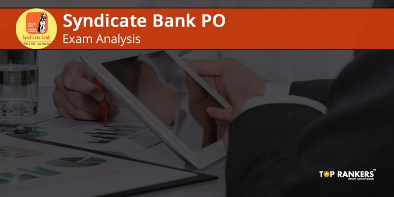 Syndicate Bank PO Exam Analysis