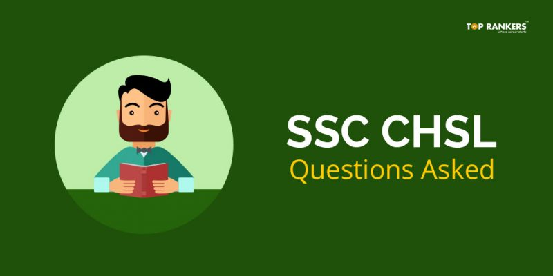 SSC CHSL Questions Asked 4th March 2018 Tier I