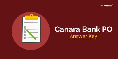 Canara Bank PO Answer Key 2018 – Download Paper Solutions in PDF