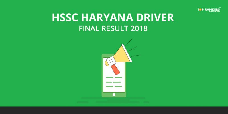 HSSC Haryana Driver Final Result 2018