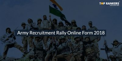 Army Recruitment Rally Online Form 2018
