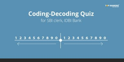 Coding-Decoding Quiz for SBI Clerk, IDBI Bank