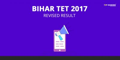 Bihar TET Result 2017 – Revised Result Declared