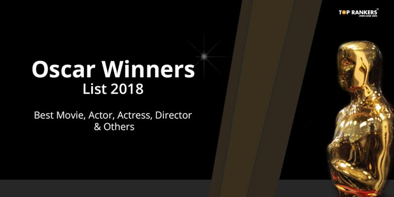 Oscar Winners List 2018 - Best Picture, Actress, Actor & More