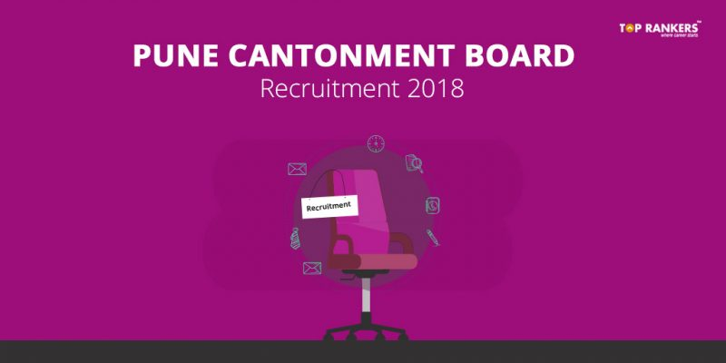 Pune Cantonment Board Recruitment