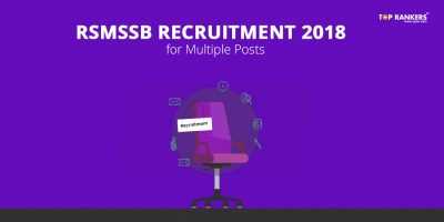 RSMSSB Recruitment 2018 for Multiple Posts