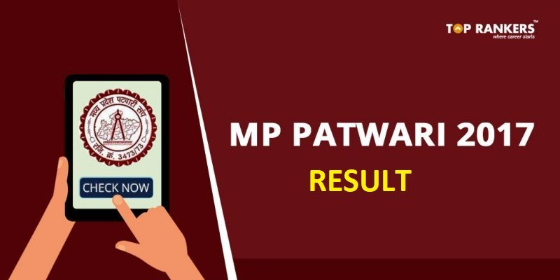 MP Vyapam Patwari Result 2017-18