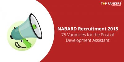 NABARD Recruitment 2018 | Apply for 75 vacancies in Development Assistant