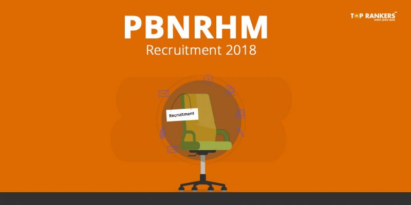 PBNRHM Recruitment 2018