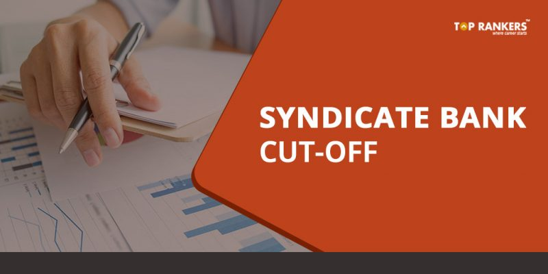 Syndicate Bank PO Cut off 2018