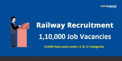 Railway Recruitment 2018 – 1,10,000 Vacancies for various Railway Posts