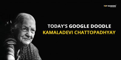 Today's Google Doodle features Kamaladevi Chattopadhyay