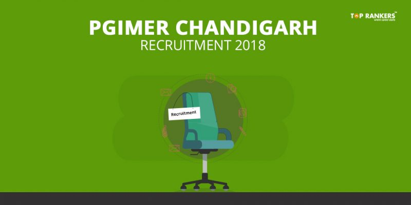 PGIMER Chandigarh Recruitment 2018 for 59 Faculty Posts