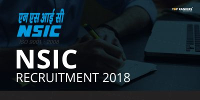 NSIC Recruitment 2018 – 19 Vacancies for Accounts Officer