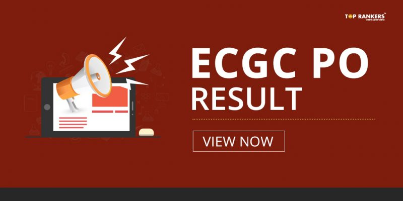 ECGC PO Result 2018 - Check Probationary Officer Final Result