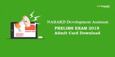 NABARD Development Assistant Prelims Admit Card – Expected Soon!