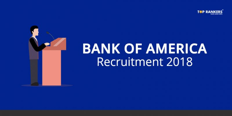 Bank Of America Recruitment 2018