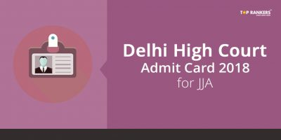 Delhi High Court Admit Card 2018 released