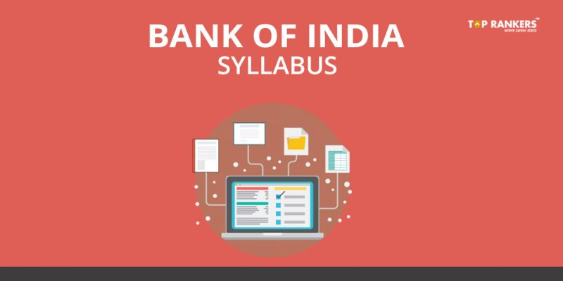 Bank of India Syllabus