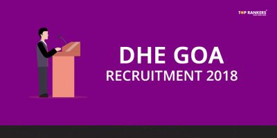 DHE Goa Recruitment 2018 – Apply for 277 Posts Here