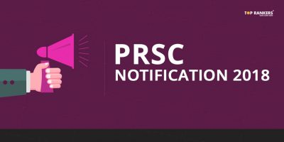 PRSC Notification 2018 | Recruitment for 16 posts