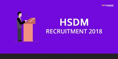 HSDM Recruitment 2018