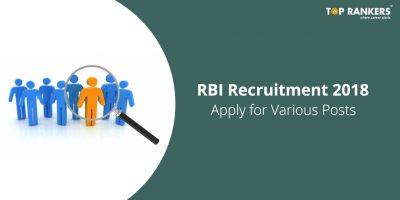 RBI Recruitment 2018 | Recruitment for Various posts