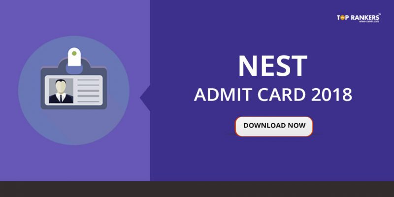 NEST admit card 2018