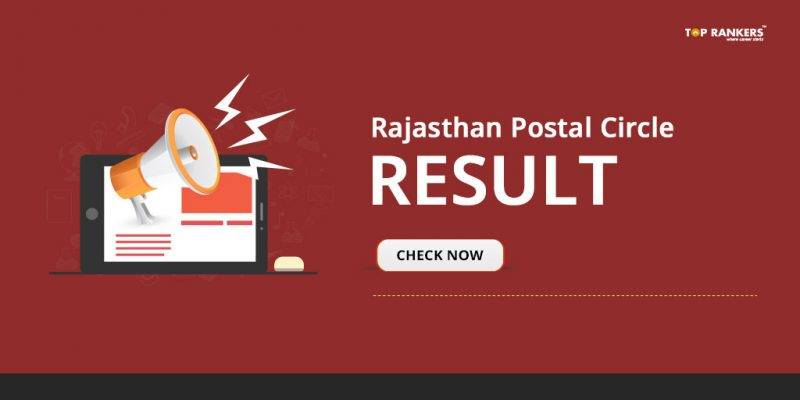 Rajasthan Postal Circle MTS Result 2018 - Direct Link to Download PDF