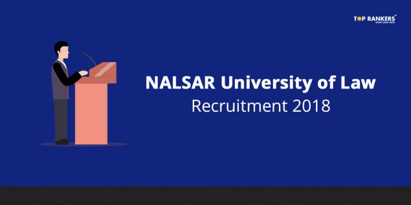 NALSAR University of Law Recruitment 2018