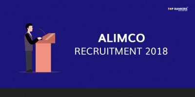 ALIMCO Recruitment 2018