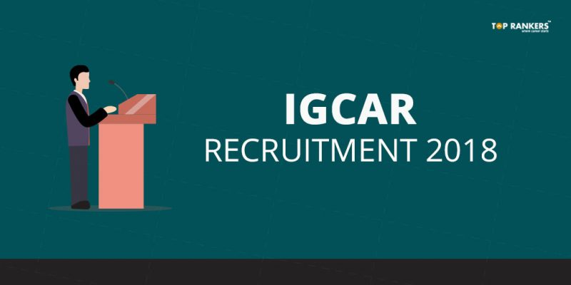 IGCAR Recruitment 2018