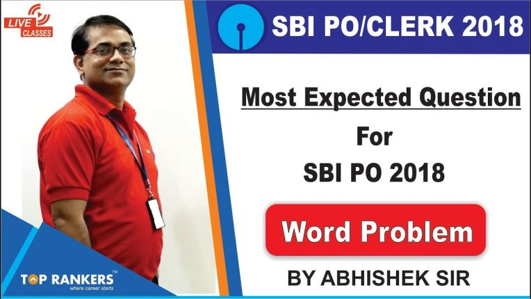 Most Expected Questions on SBI PO and Clerk Video