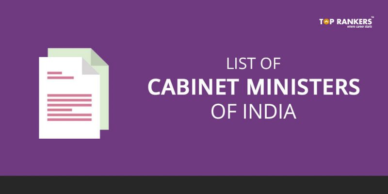 List of Cabinet Ministers of India | Changes Made during Third Re-shuffle
