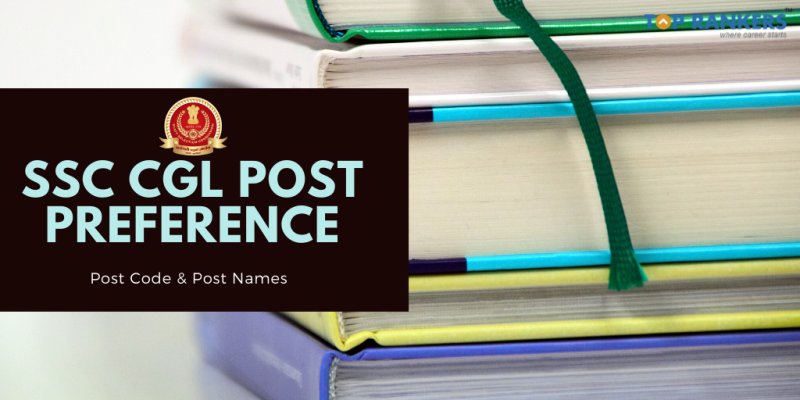 ssc cgl post preference