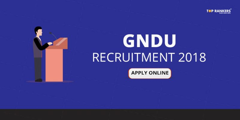 GNDU-Recruitment