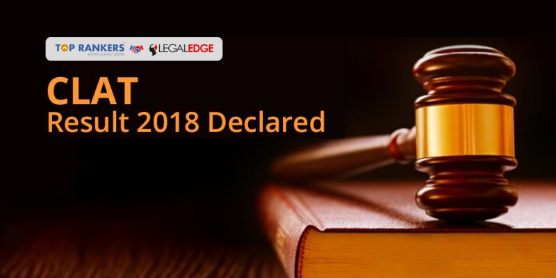 CLAT Result 2018 Declared