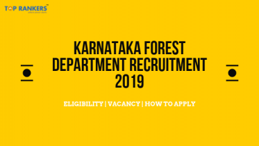Karnataka Forest Department Recruitment 2019