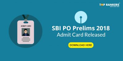 SBI PO Admit Card for Mains 2018 to be released