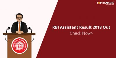 RBI Assistant Result 17-18 – Check Final Result Here