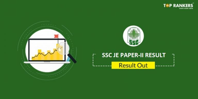 SSC JE  2017 Paper II Result Released
