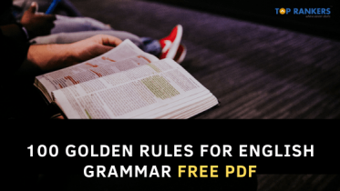 100 Golden Rules for English Grammar- Download PDF