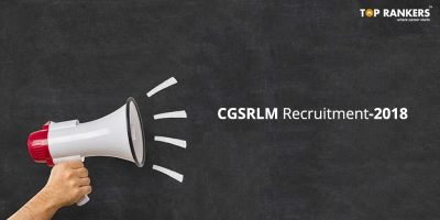 CGSRLM Recruitment 2018