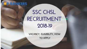 SSC CHSL Recruitment 2018-19