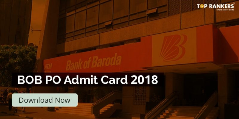 Bank of Baroda PO Admit Card