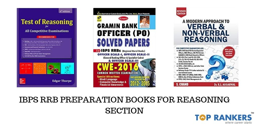 IBPS RRB Preparation Books for Reasoning Section