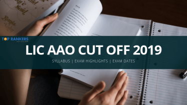 LIC AAO Cut off 2019