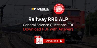 Most Important General Science Questions PDF for RRB ALP & Group D Exams